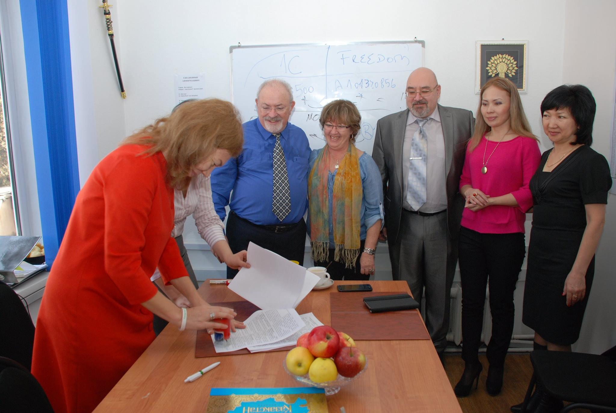 Торжественное открытие Youngevity-Казахстан